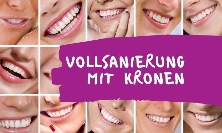 Vollsanierung – neue Zähne, die gesund und schön aussehen